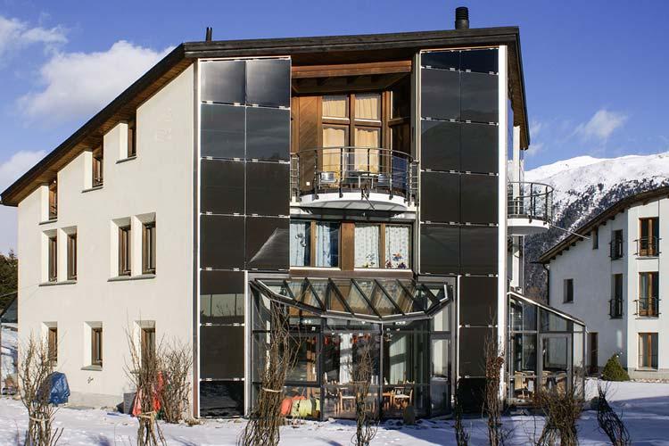 PV Fassade Celerina
