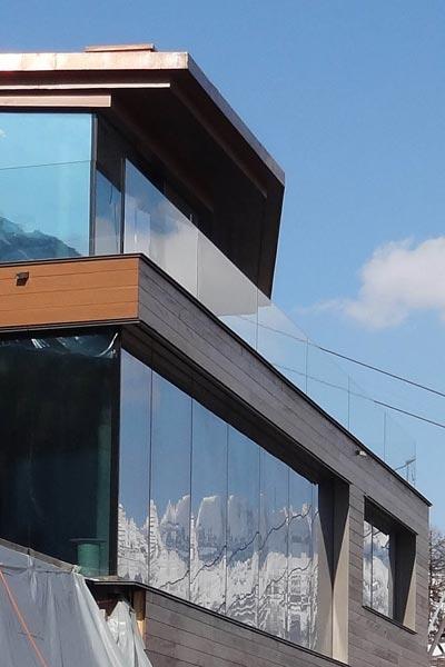 Skyframe Schiebefenster Villa