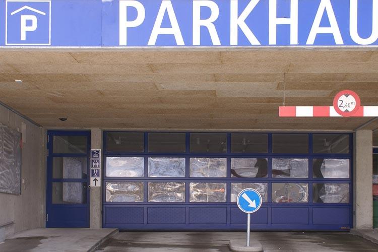 Parkhaus Corvatsch