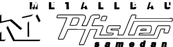 Pfister Metallbau Retina Logo