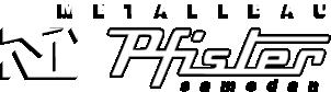 Pfister Metallbau Mobile Retina Logo